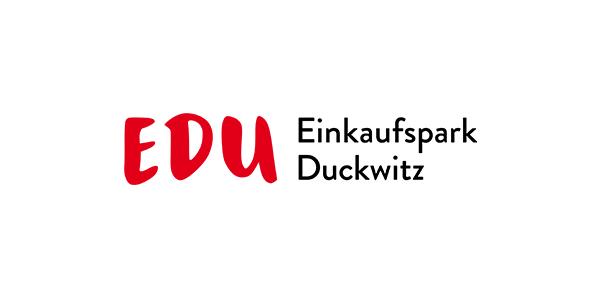 On Shopping Centre Logos: Einkaufspark Duckwitz in Bremen, Germany
