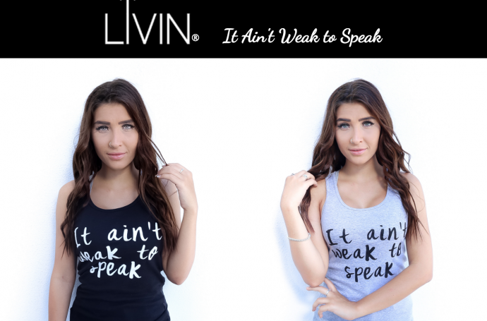 On Merchandise for a Non-Profit: LIVIN