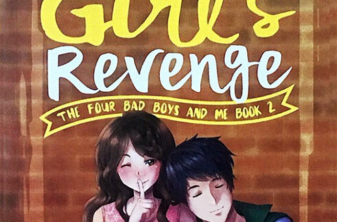 Mix Fickle and Mix Brush on The Good Girl's Revenge Book Cover