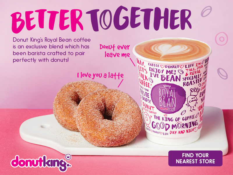 Mix Brush on Donut King's Better Together Ads