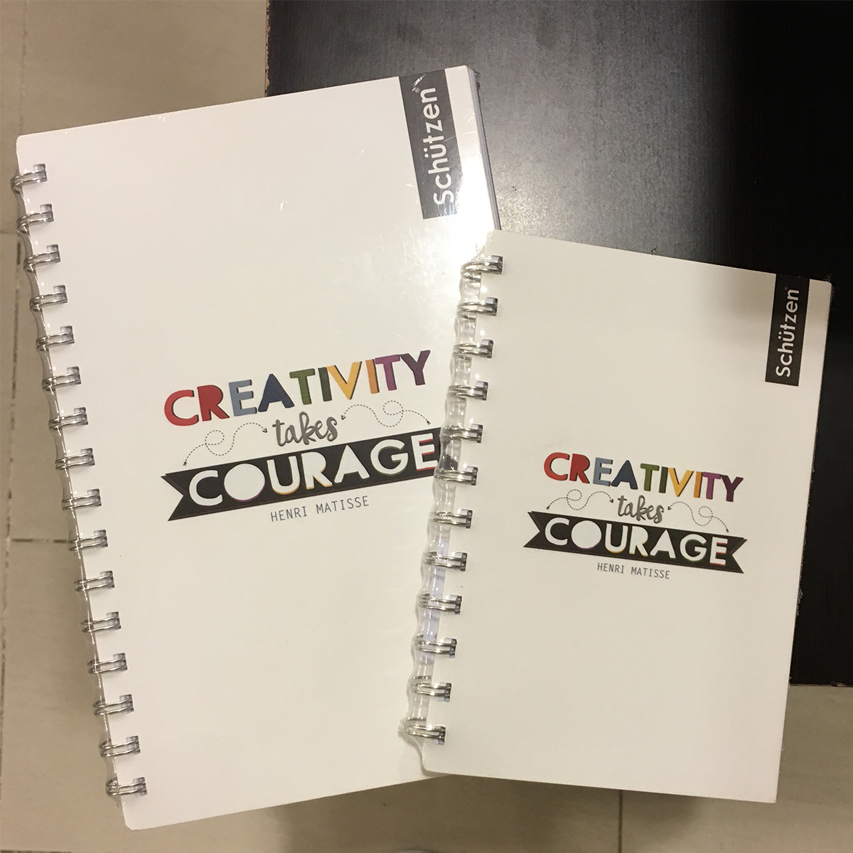 Mix Punch Out or Mix Cut Outs on Notebooks
