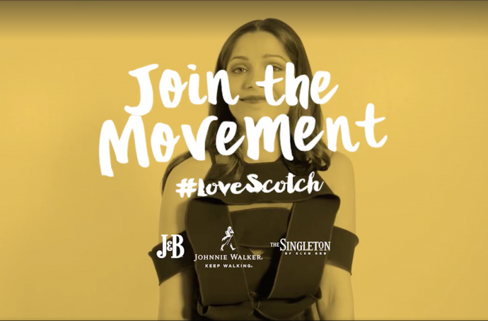 Mix Fickle on Johnnie Walker's #LoveScotch Even More Campaign
