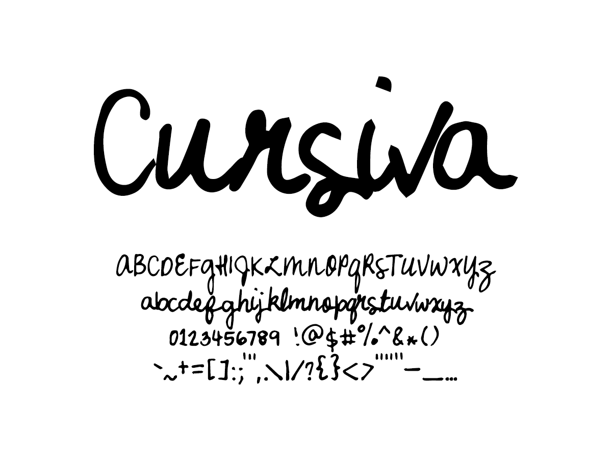 Mix Cursiva - Handwritten Fonts by Mikko Sumulong