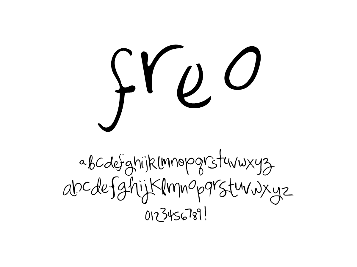 Mix Freo - Handwritten Fonts by Mikko Sumulong