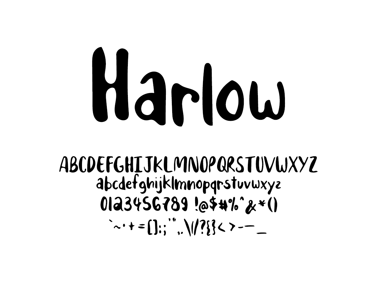 Mix Harlow - Handwritten Fonts by Mikko Sumulong