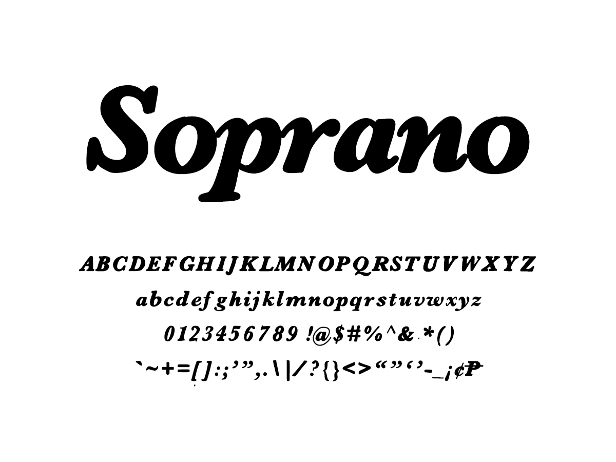 Mix Soprano - Handwritten Fonts by Mikko Sumulong