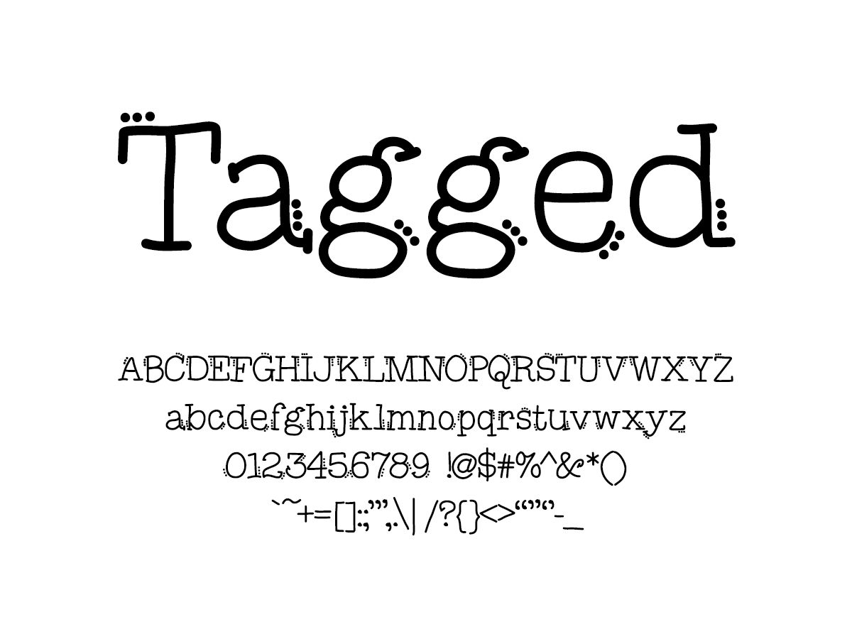 Mix Tagged - Handwritten Fonts by Mikko Sumulong