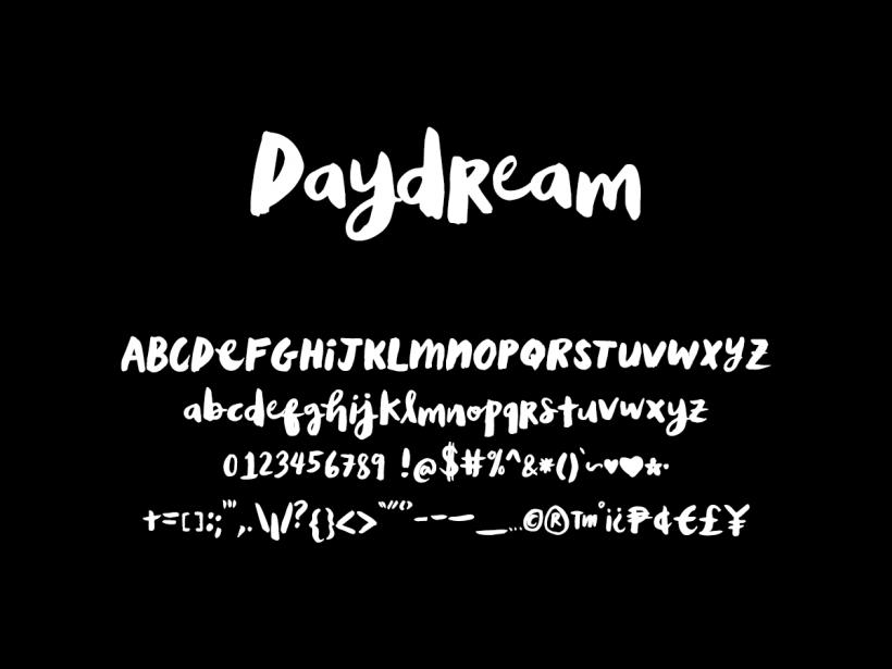 Daydream - Handwritten by Drea Dela Cruz