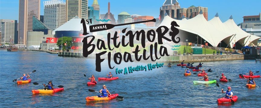 Mix Kitsch, Mix Plump and Mix Brush for 1st Annual Baltimore Floatilla