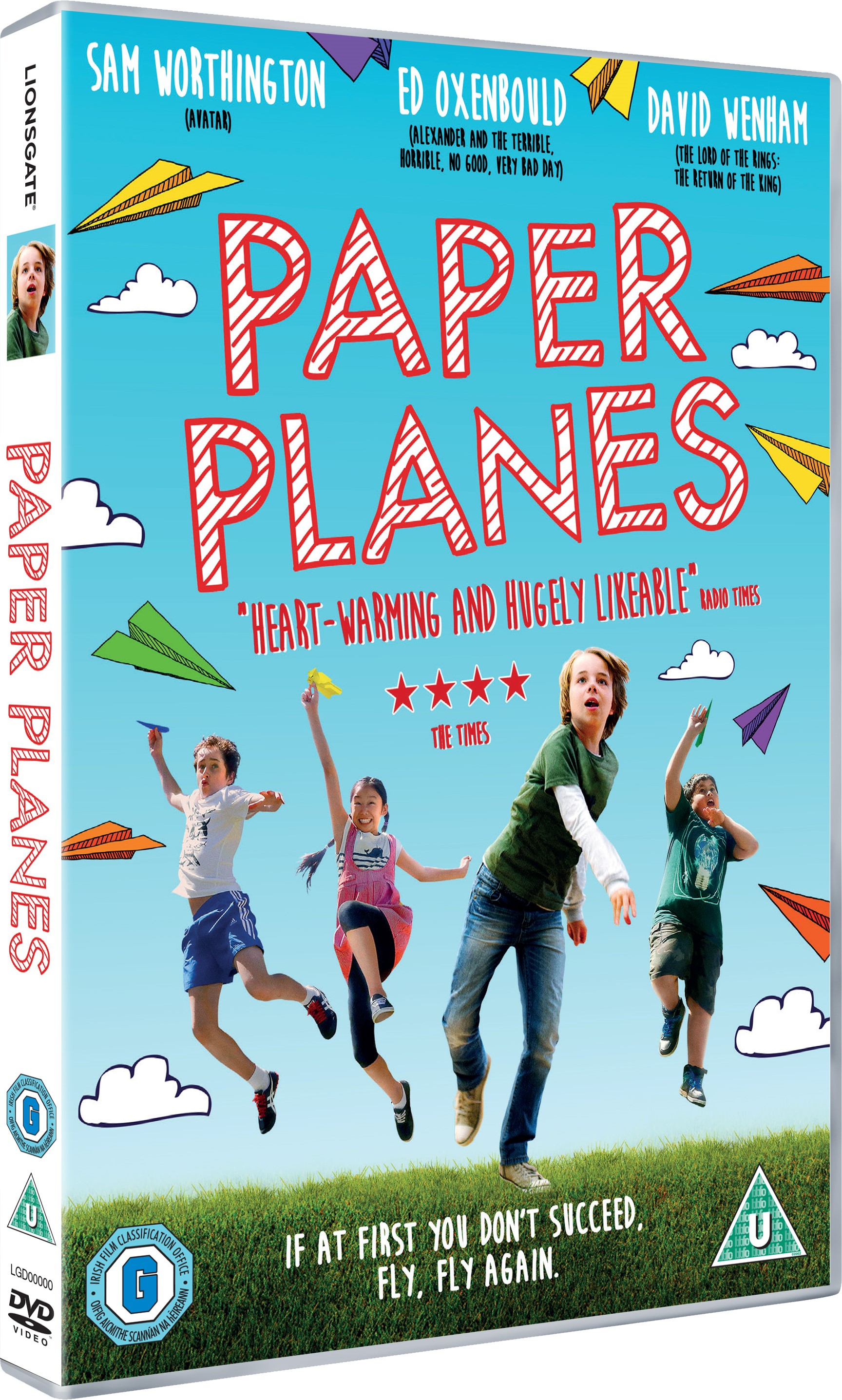 Mix Striped on Paper Planes Movie DVDs