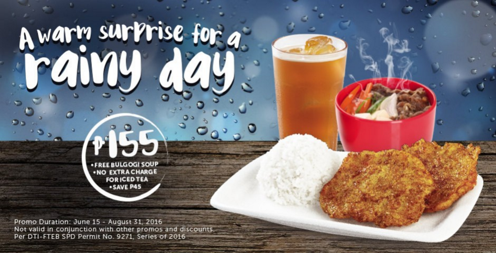 On Advertising: BonChonPH's Rainy Days Ads