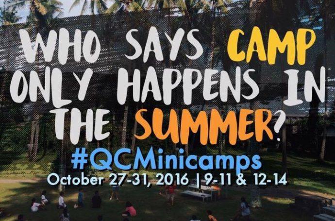 Mix Brush on CISV QC's Camp Invite