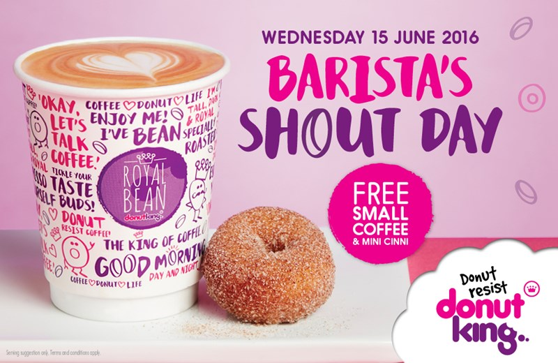 On Advertising: Donut King's Ads and Coffee Cups