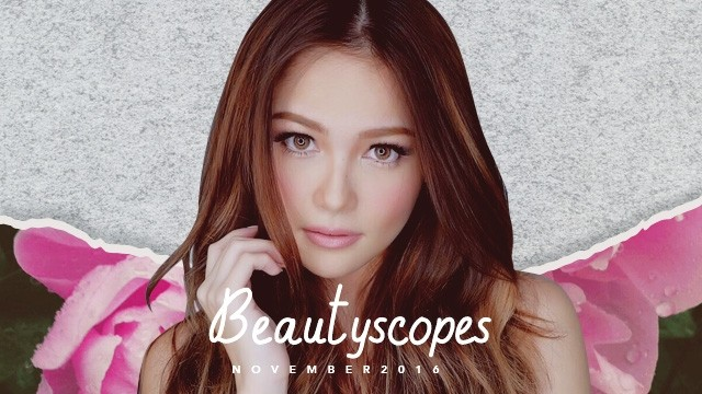 Mix Amie on CandyMag.Com's November 2016 Beauty Horoscopes' Cover Art