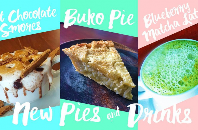 Mix Kitsch for π Pi Breakfast and Pies social media posts and in-store signages