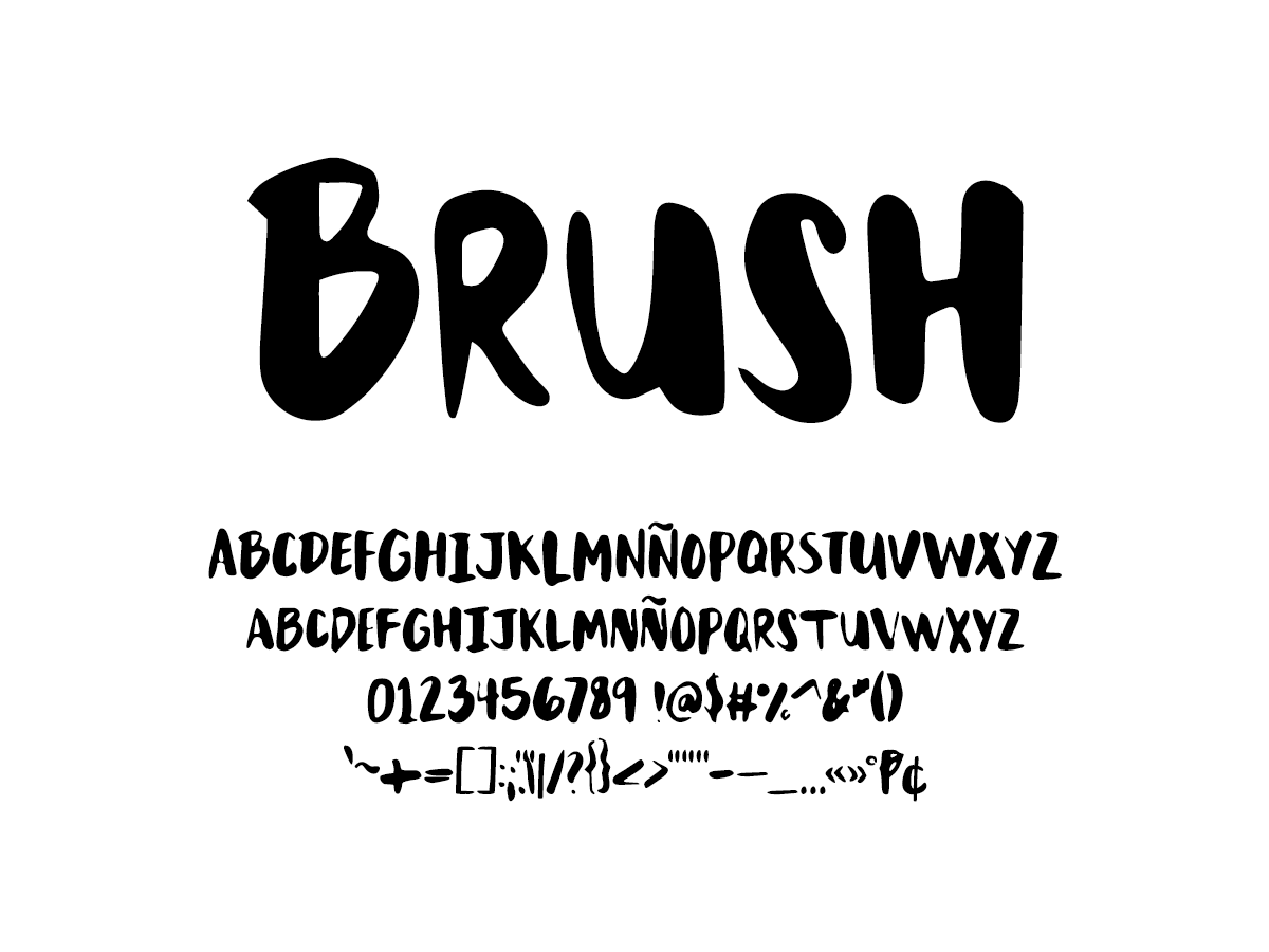 Mix Brush - Handwritten Fonts by Mikko Sumulong