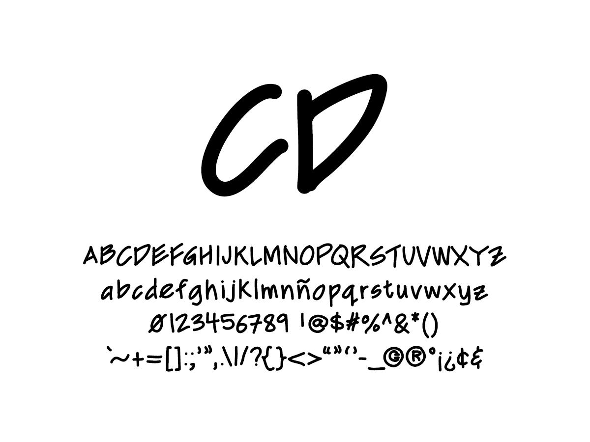 Mix CD - Handwritten Fonts by Mikko Sumulong