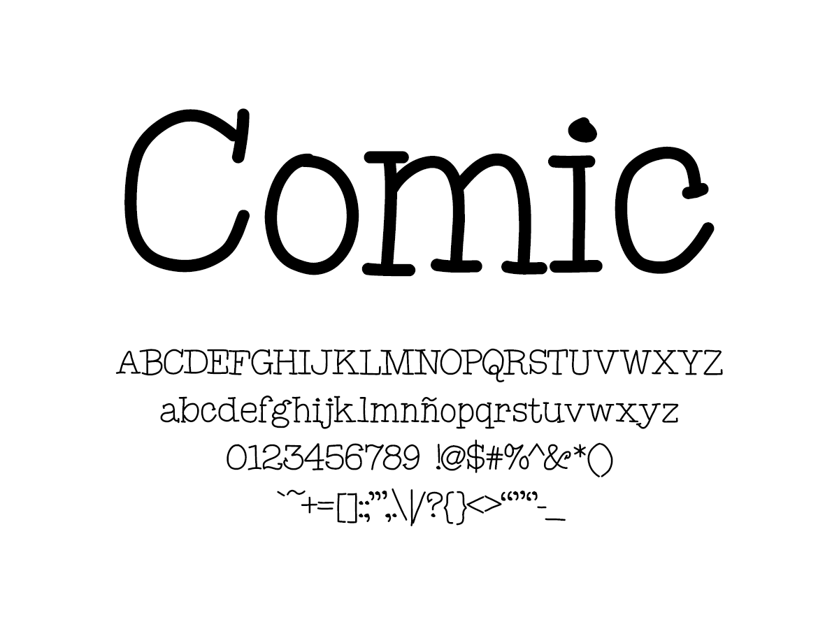 Mix Comic - Handwritten Fonts by Mikko Sumulong