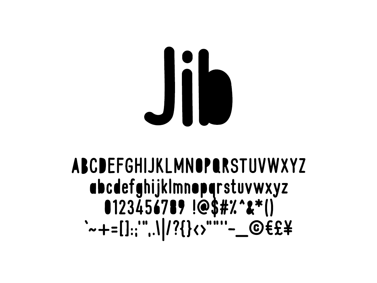 Mix Jib - Handwritten Fonts by Mikko Sumulong