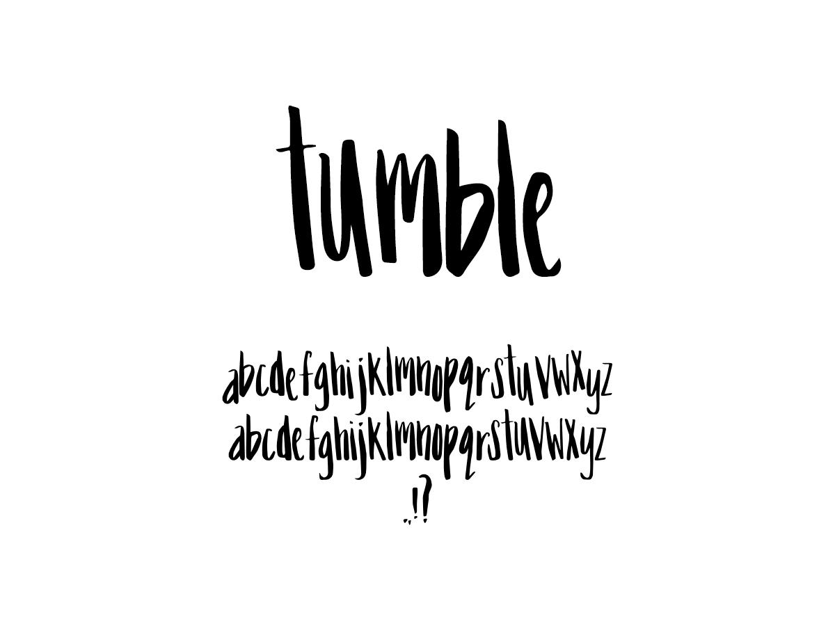 Mix Tumble - Handwritten Fonts by Mikko Sumulong