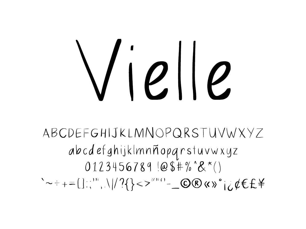 Mix Vielle - Handwritten Fonts by Mikko Sumulong