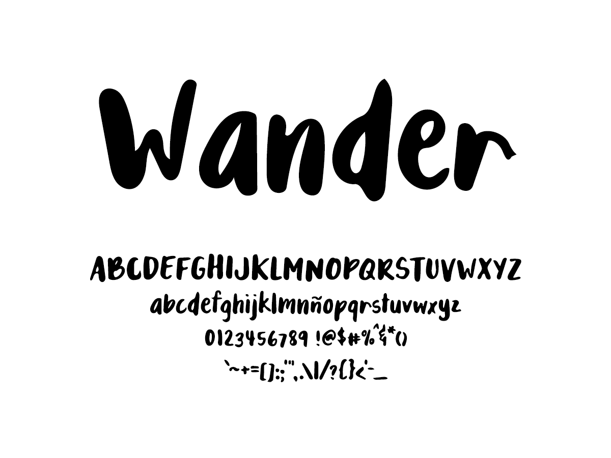 Mix Wander - Handwritten Fonts by Mikko Sumulong