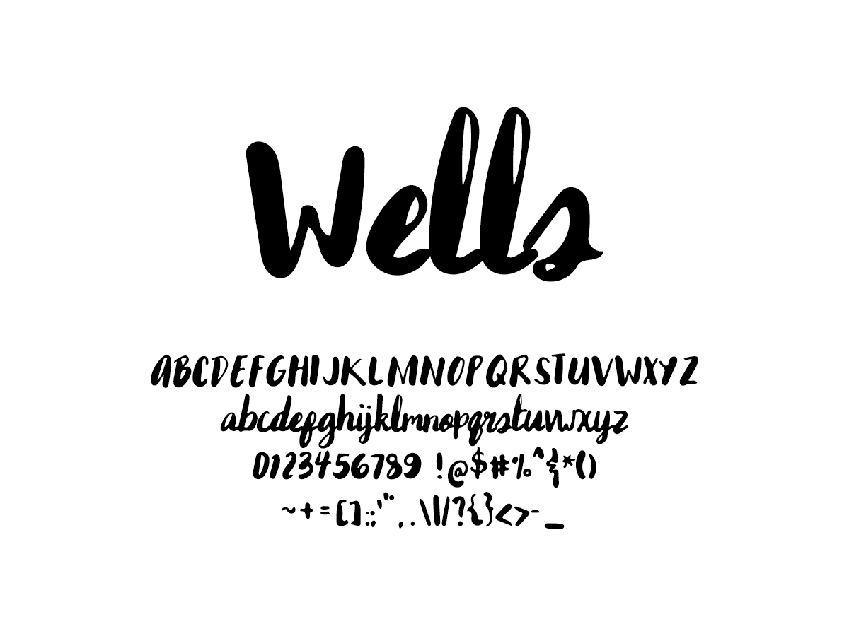 Mix Wells - Handwritten Fonts by Mikko Sumulong