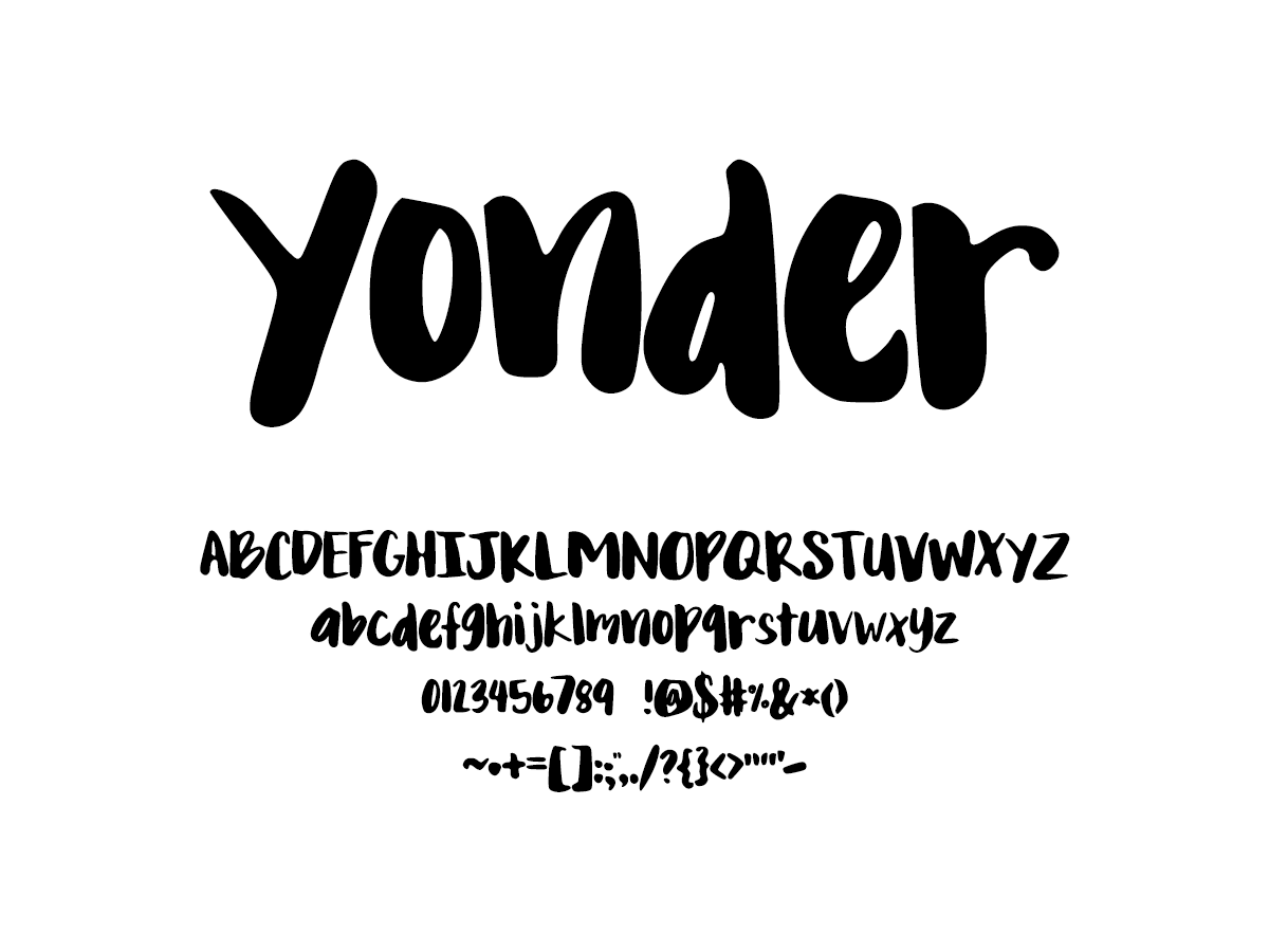 Mix Yonder - Handwritten Fonts by Mikko Sumulong