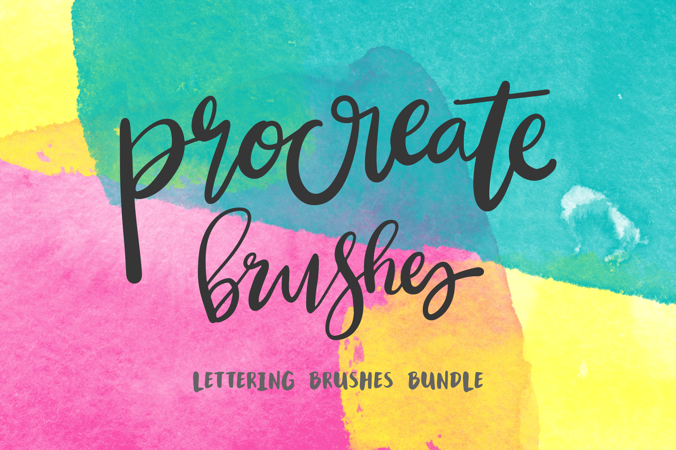 Procreate App Lettering Brushes by Mikko Sumulong