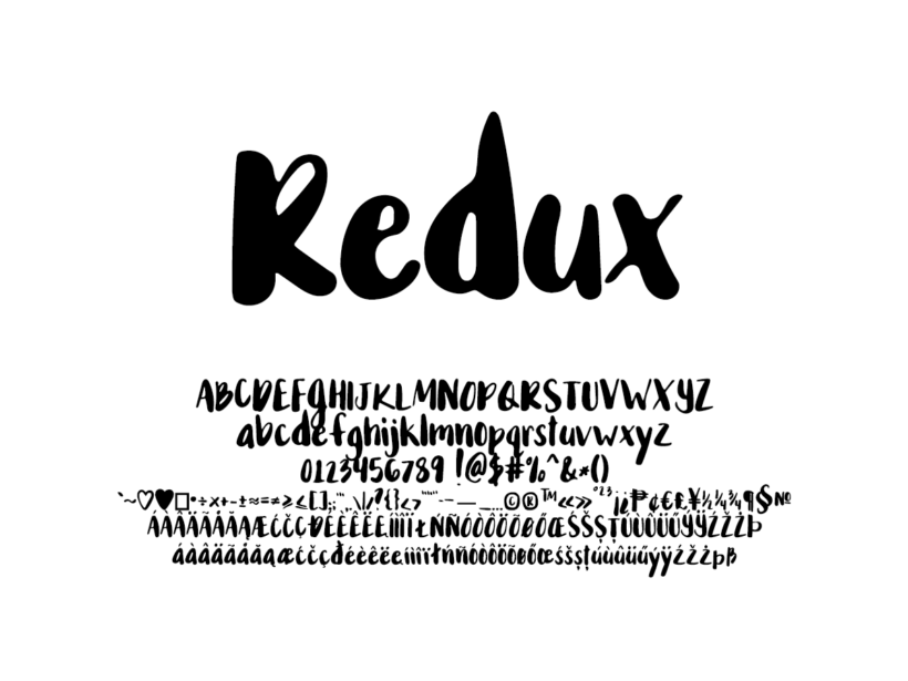 Mix Redux - Handwritten Fonts by Mikko Sumulong