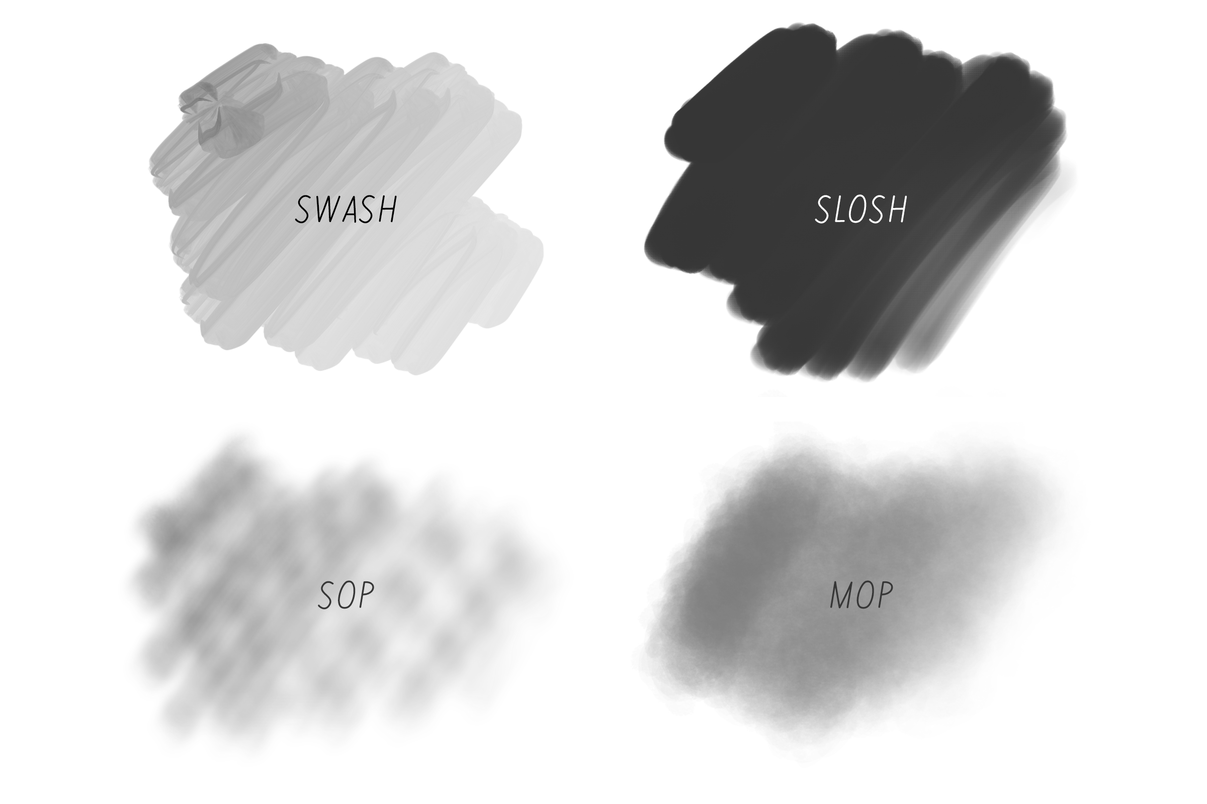 Mix Fonts | Procreate Brushes