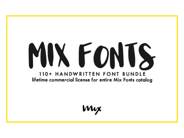 Mix Fonts Complete Collection